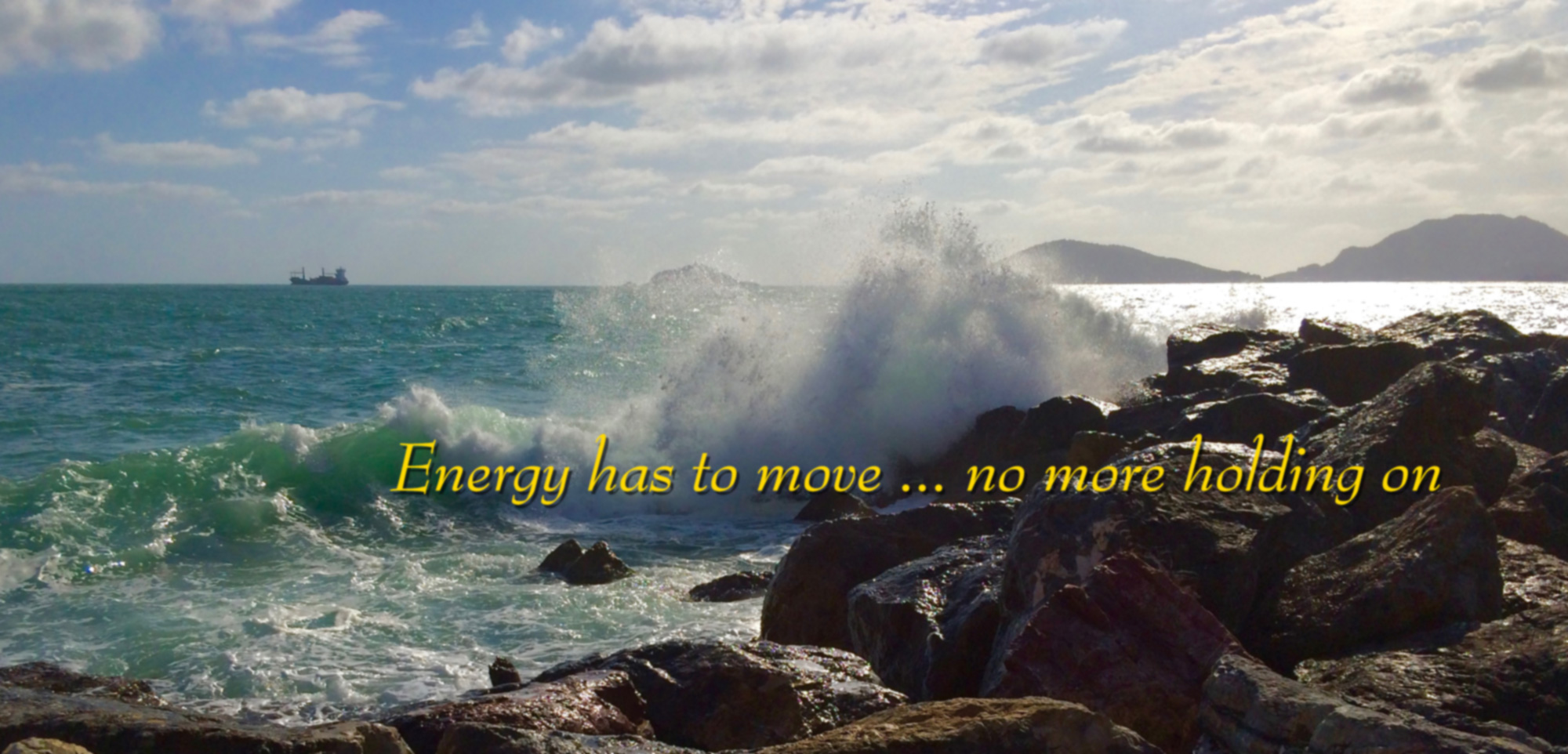Energy has to move 2